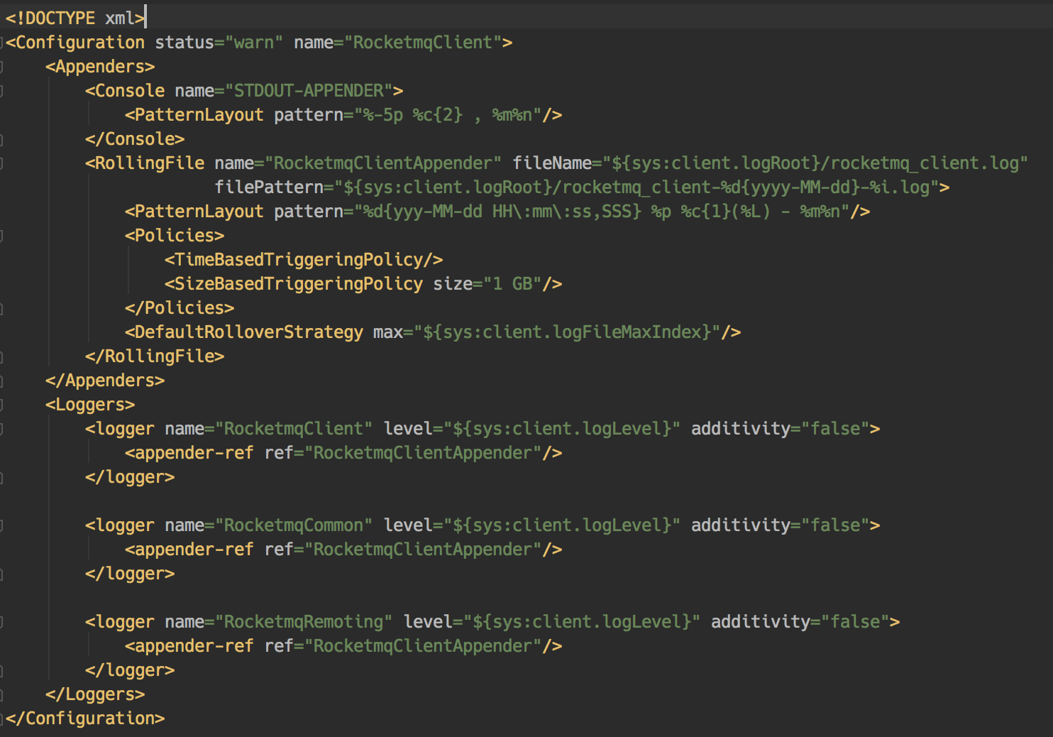 log4j2_rocketmq_client